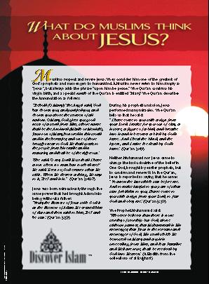Muslims and Jesus